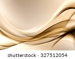 abstract gold wave design... | Shutterstock . vector #327512054