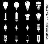 light bulbs icons set... | Shutterstock .eps vector #327525980