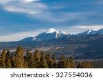 golden autumn in the mountains | Shutterstock . vector #327554036