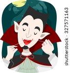 Illustration Of A Vampire Using ...