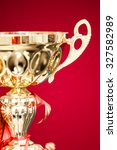 close up of the trophy | Shutterstock . vector #327582989