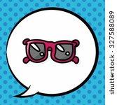 sunglasses color doodle  speech ...   Shutterstock .eps vector #327588089