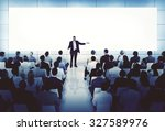 coaching mentoring seminar... | Shutterstock . vector #327589976