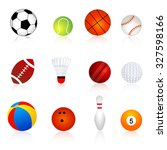 collection of twelve different... | Shutterstock . vector #327598166