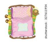 cute bed | Shutterstock .eps vector #327611954