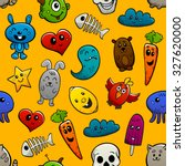 graffiti cartoon abstract... | Shutterstock . vector #327620000