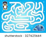 Help Penguin To Find Way To...