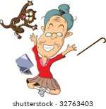 obviously  grandma saw... | Shutterstock .eps vector #32763403