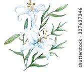 Watercolor Floral Arrangement ...