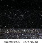 glitter vintage lights... | Shutterstock . vector #327670253