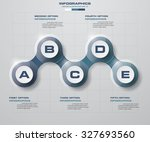 clean number template graphic... | Shutterstock .eps vector #327693560
