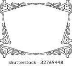 abstract decorative frame | Shutterstock .eps vector #32769448