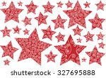 christmas new year celebration  ... | Shutterstock . vector #327695888