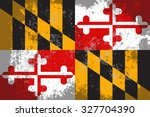 maryland grunge  old  scratched ... | Shutterstock .eps vector #327704390