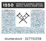 crutches and other web... | Shutterstock .eps vector #327752558