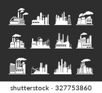 industry manufactory buildings | Shutterstock . vector #327753860