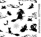 seamless pattern  symbols... | Shutterstock . vector #327774488