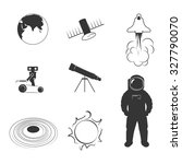 set of icons on a theme... | Shutterstock .eps vector #327790070