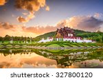 chiang mai  thailand at royal... | Shutterstock . vector #327800120