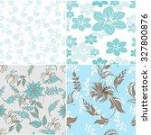 seamless flower background  ... | Shutterstock .eps vector #327800876