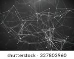 abstract gray geometrical... | Shutterstock . vector #327803960