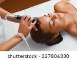 face skin care treatment.... | Shutterstock . vector #327806330