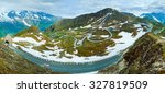 Summer Alps Mountain View From...