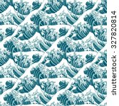 Seamless Pattern Of The Great...