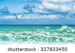 summer watersport background of ... | Shutterstock . vector #327833450