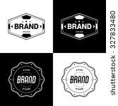 vector badges | Shutterstock .eps vector #327833480