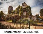 malahide castle near dublin by... | Shutterstock . vector #327838706