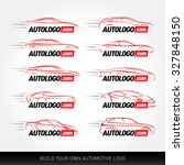 car logotypes   car service and ... | Shutterstock .eps vector #327848150