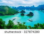 Scenic View Of Islands In...