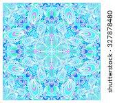 decorative scarf pattern | Shutterstock . vector #327878480
