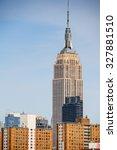 new york  usa   sep 25  2015 ... | Shutterstock . vector #327881510