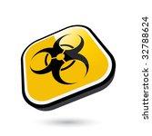 modern bio hazard warning | Shutterstock .eps vector #32788624