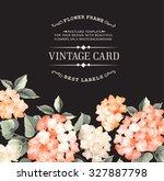 Vintage Card For Wedding...