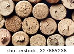 various used wine corks many... | Shutterstock . vector #327889238