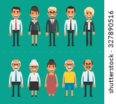 group people businessmen and... | Shutterstock .eps vector #327890516