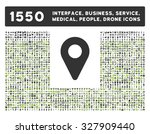 map marker glyph icon. style is ... | Shutterstock . vector #327909440