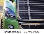 sunlit powerful modern stylish...   Shutterstock . vector #327913928