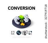conversion icon  vector symbol...