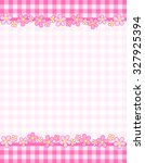 Cute Pink Gingham Header  ...