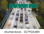 Rush Hour Traffic On Interstat...