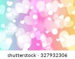 Cute And Fresh Rainbow Heart...