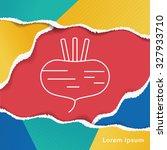 vegetables line icon | Shutterstock .eps vector #327933710