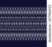 geometric ethnic pattern design ...   Shutterstock .eps vector #327960413