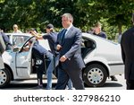 6 june 2015 the minister of the ... | Shutterstock . vector #327986210