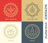Logo Design Templates In Linea...