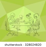 sharing of working files and... | Shutterstock .eps vector #328024820